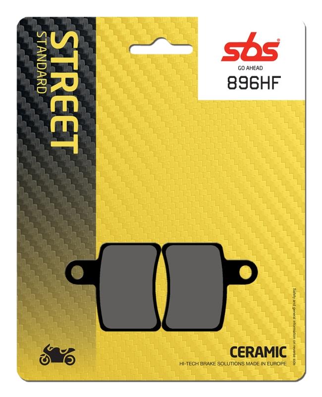 Pastilla de freno SBS P896-HF