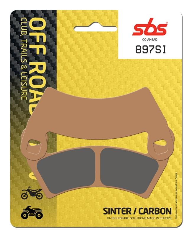 Pastilla de freno SBS P897-SI