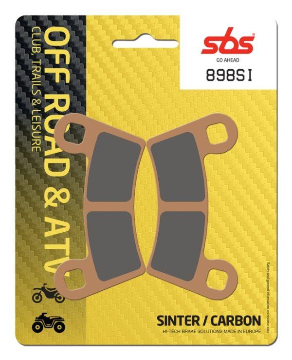 Pastilla de freno SBS P898-SI