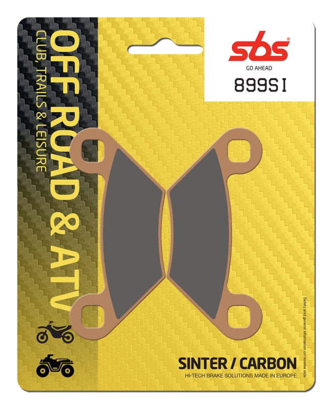Pastilla de freno SBS P899-SI