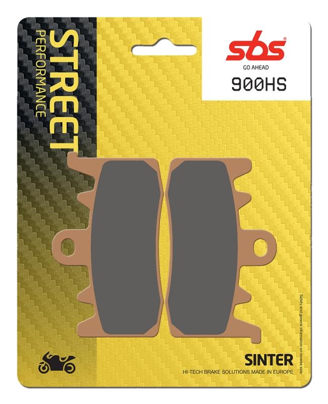 Pastilla de freno SBS P900-HS
