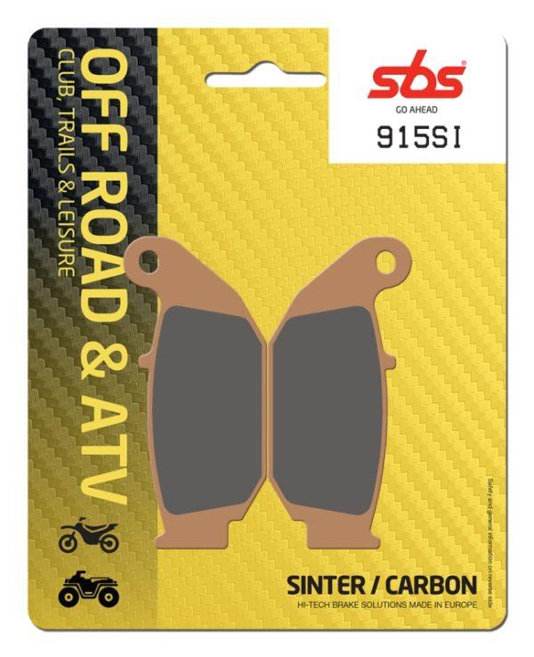 Pastilla de freno SBS P915-SI