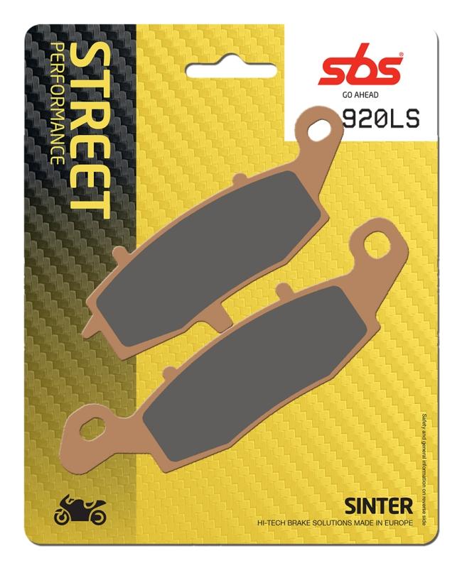 Pastilla de freno SBS P920-LS