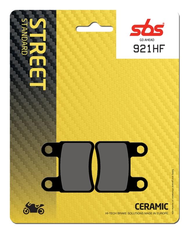 Pastilla de freno SBS P921-HF