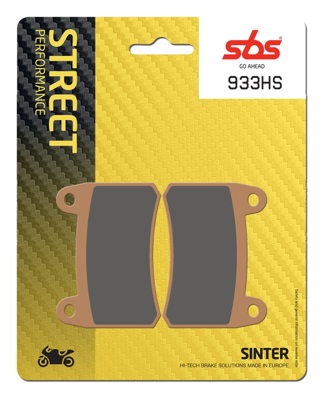 Pastilla de freno SBS P933-HS