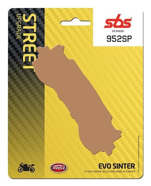 Pastilla de freno SBS P952-SP