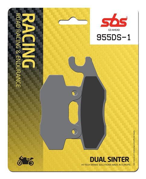 Pastilla de freno SBS P955-DS1