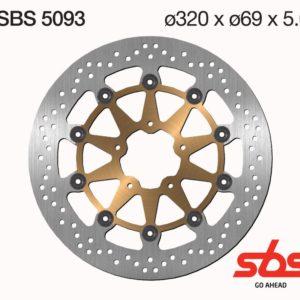 Disco Freno SBS 5093