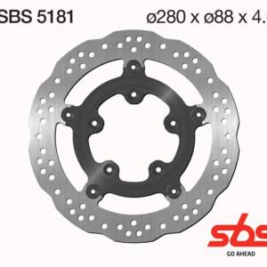 Disco Freno SBS 5181
