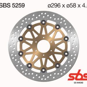 Disco Freno SBS 5259