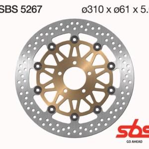 Disco Freno SBS 5267