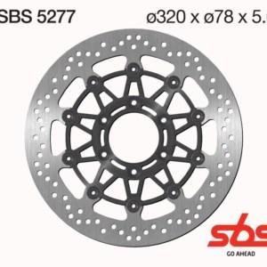 Disco Freno SBS 5277