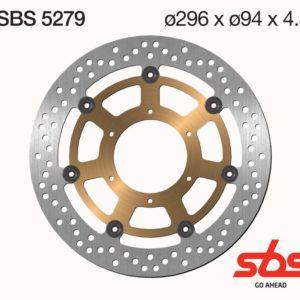 Disco Freno SBS 5279