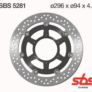 Disco Freno SBS 5281