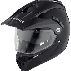 ENDURO - Casco Held Alcatar Negro Mate -