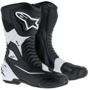 BOTAS PARA MOTOS - Botas Alpinestars SMX-S Negro Blanco -