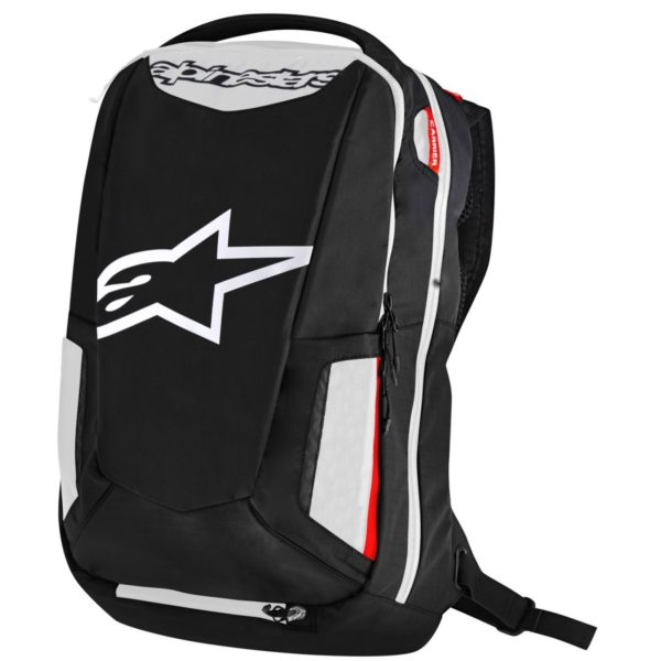 ROPA TÉRMICA PARA MOTO - Mochila Alpinestars City Hunter Black White Red -