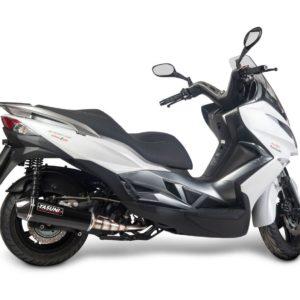 Escapes Yasuni - Escape homologado Yasuni 4T Silenc. Black Carbon Kawasaki J125 -