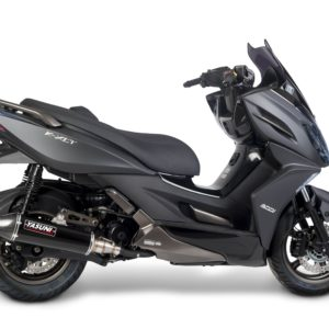 Escapes Yasuni - Escape homologado Yasuni 4T Silenc. Black Carbon Kymco K XCT 300 -