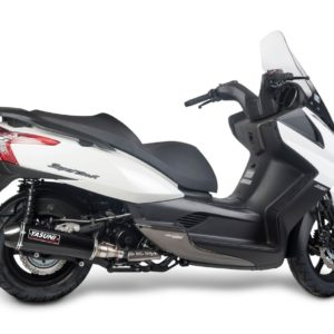 Escapes Yasuni - Escape homologado Yasuni 4T Silenc. Black Carbon Kymco Superdink 300 -