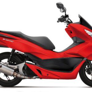 Escapes Yasuni - Escape homologado Yasuni 4T Titanio Honda PCX 125 TUB653 -