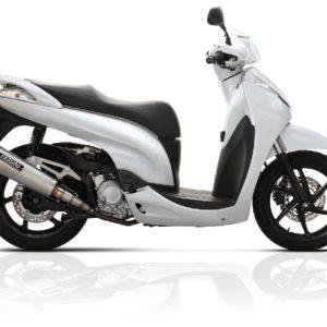 Escapes Yasuni - Escape homologado Yasuni 4T Titanio Honda SH 125 TUB653 -