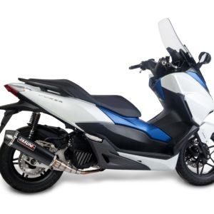 Escapes Yasuni - Escape homologado Yasuni 4T Black Carbon Honda Forza 300 TUB657BC -