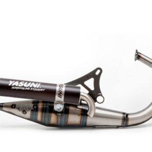 ESCAPES APRILIA YASUNI - Escape homologado 2T Yasuni Z Silenc. Black Aprilia SR / Yamaha Bw / MBK Booster -