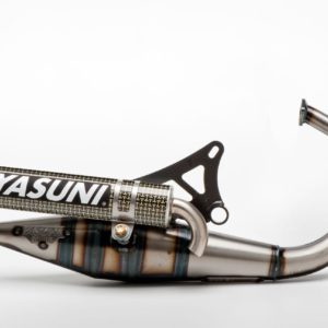 ESCAPES APRILIA YASUNI - Escape homologado 2T Yasuni Z Silenc. Carbono Kevlar Aprilia SR / Yamaha Bw / MBK Booster -