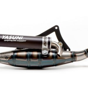 ESCAPES PEUGEOT YASUNI - Escape homologado 2T Yasuni R Silenc. Black Peugeot C-Tech, Ludix Air Cooled, Vivacity -