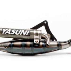 ESCAPES PEUGEOT YASUNI - Escape homologado 2T Yasuni R Silenc. Carbono Kevlar Peugeot C-Tech, Ludix Air Cooled, Vivacity