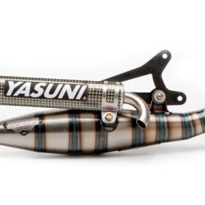 ESCAPES APRILIA YASUNI - Escape homologado 2T Yasuni R/07 Silenc. Carbono Aprilia SR, Rally / Benelli K2 -