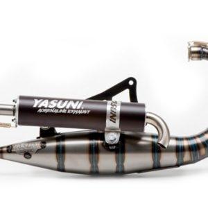 ESCAPES APRILIA YASUNI - Escape competición 2T Yasuni Carrera 16 Silenc. Black Aprilia SR / MBK Booster / Yamaha BW´S -