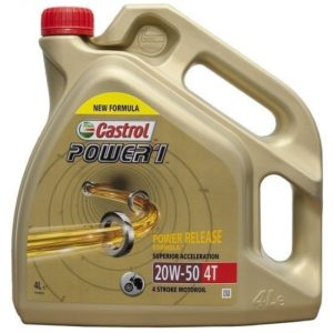 CASTROL - ACEITE CASTROL POWER 1 20W50 4T 4L -