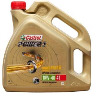 CASTROL - ACEITE CASTROL POWER1 10W40 4T 4L -