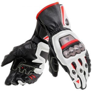 - Guantes Dainese Full Metal 6 Negros Blancos Rojos -