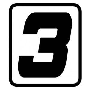 "ADHESIVOS - ADHESIVO BARRACUDA NUMERO ""3"" -"