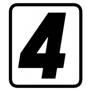 "ADHESIVOS - ADHESIVO BARRACUDA NUMERO ""4"" -"