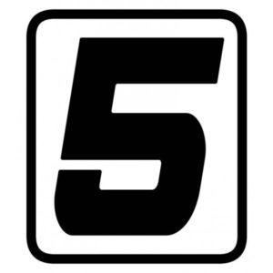 "ADHESIVOS - ADHESIVO BARRACUDA NUMERO ""5"" -"