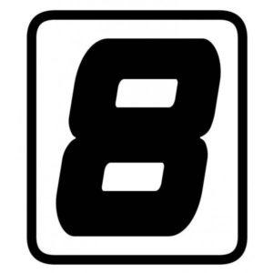 "ADHESIVOS - ADHESIVO BARRACUDA NUMERO ""8"" -"