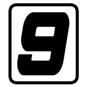 "ADHESIVOS - ADHESIVO BARRACUDA NUMERO ""9"" -"