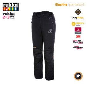 PANTALONES DE CORDURA RUKKA - Pantalón Rukka Elastina Negro normal -