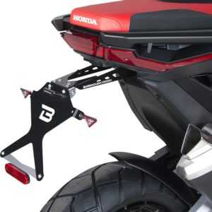 PORTAMATRICULAS - Portamatrículas Honda X ADV HX7104 Barracuda -