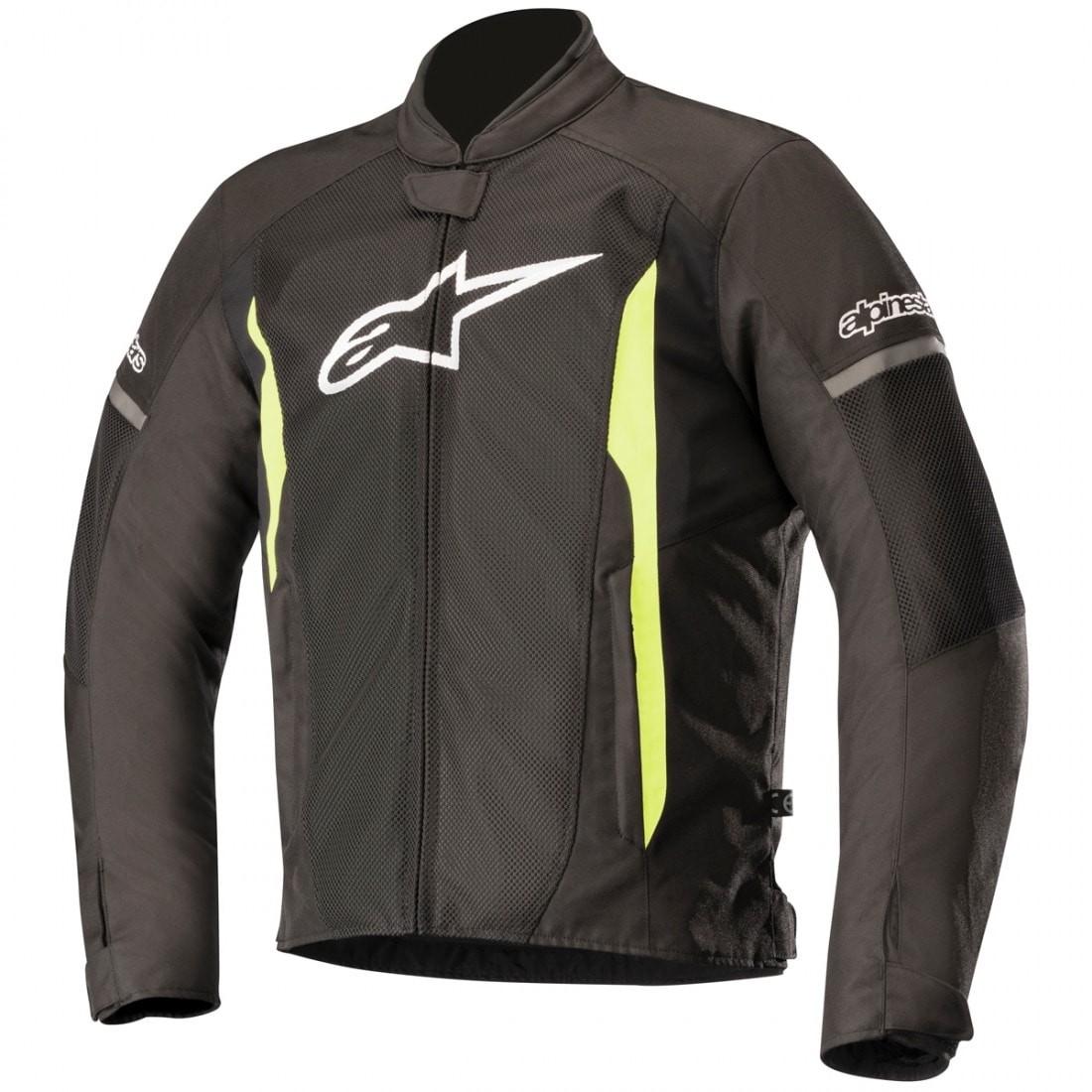 HOMBRE - Chaqueta Alpinestars T-Faster Air Jacket Negra Amarilla -
