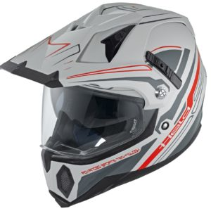ENDURO - Casco Held Makan Gris Negro -