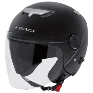 JET - Casco Held Top Spot Negro -