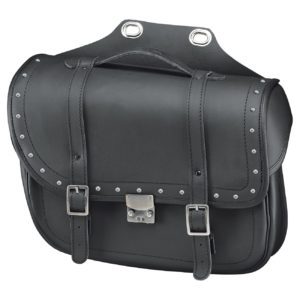 - Alforja Held Cruiser Bullet Bag con remaches inoxidables -