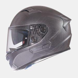 INTEGRALES MT - Casco MT KRE SV Solid Titanio Brillo -
