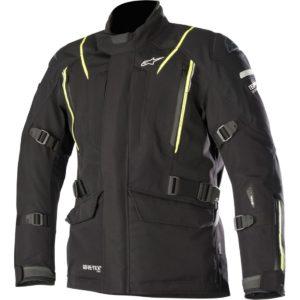 HOMBRE - Chaqueta Alpinestars Big Sur Gore Tex Pro Jacket Negra Amarilla -