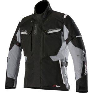 HOMBRE - Chaqueta Alpinestars Bogotá v2 Drystar Jacket Negra Gris -